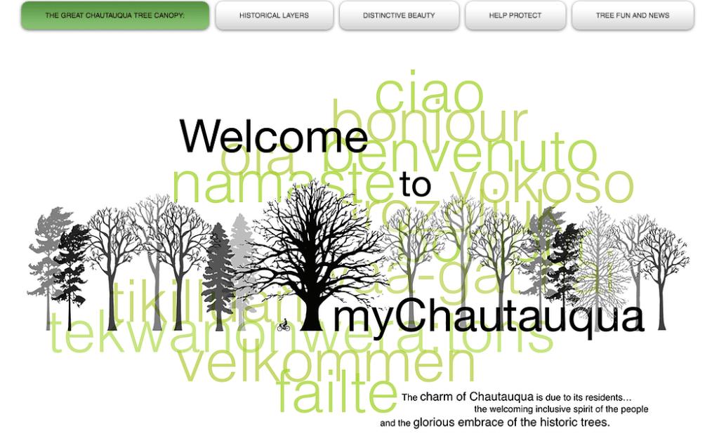 MyChautauqua.ca website