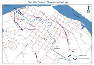 One MileCreek in Old Town of Niagara on the Lake