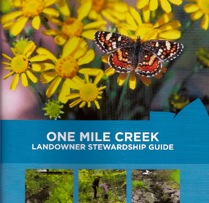 One Mile Creek Stewardship Guide cover